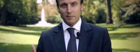 sondaggi elettorali francia intenzioni di voto il candidato Emmanuel Macron