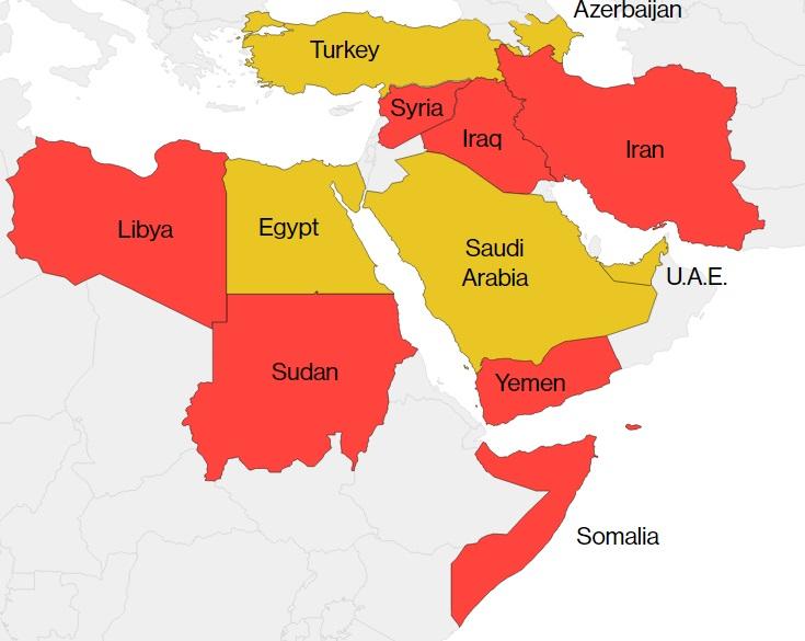 donald trump map