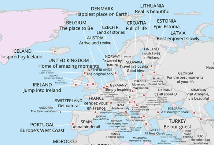 mappe turismo