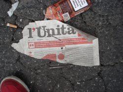 Matteo Renzi: il rilancio del partito sta affondando L'Unità