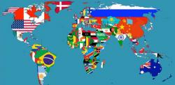 Mappe interessanti: i paesi con i confini più strani