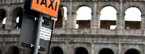 sondaggi politici, proteste tassisti