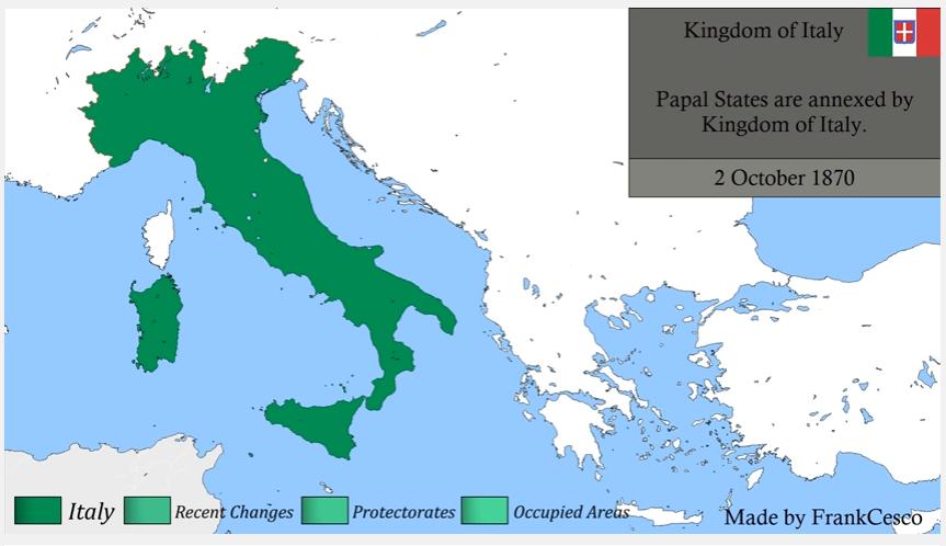 Dalmazia Italiana Cartina.La Storia D Italia In Un Video Dal 1859 A Oggi Tutti I Cambiamenti Territoriali