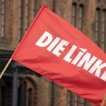 sondaggi elettorali germania - bandiera della sinistra radicale Die Linke