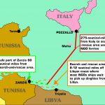 emergenza immigrazione, mappe Canale di Sicilia