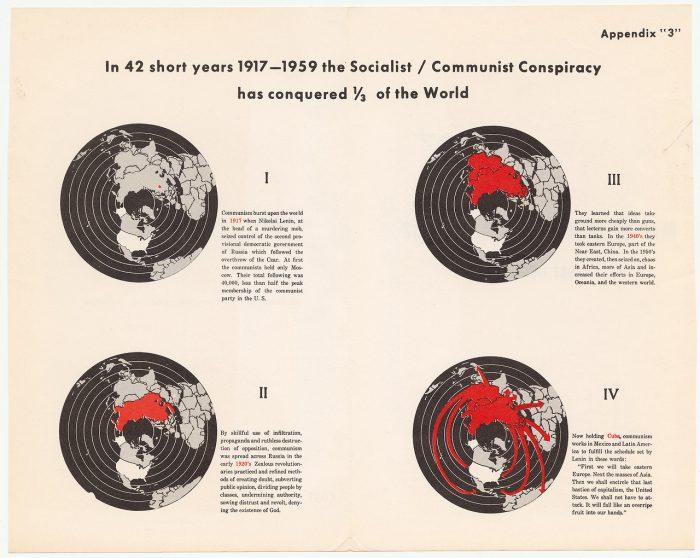 mappe cospirazione comunista