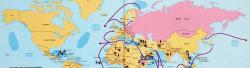 Mappe: la potenza militare dell'Unione Sovietica in una sola mappa