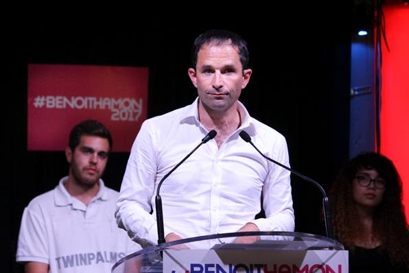 sondaggi elettorali francia - Benoit Hamon, candidato del Partito Socialista