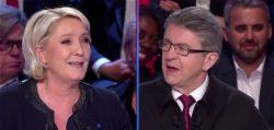 """Marine Le Pen seduce gli """"orfani"""" di Mélenchon: punti in comune"""