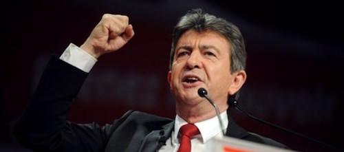 elezioni Francia, Melenchon a un comizio