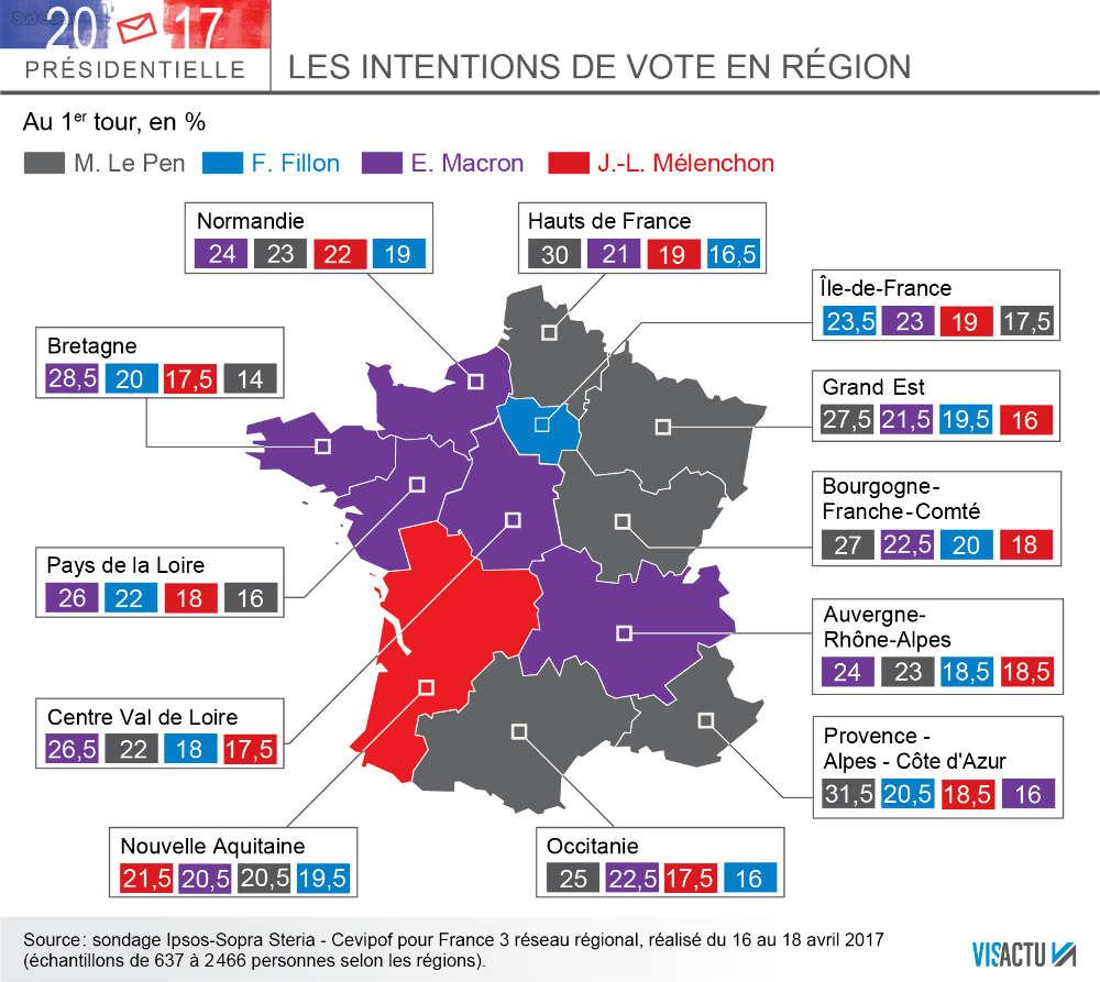 elezioni francia, mappa voto francia