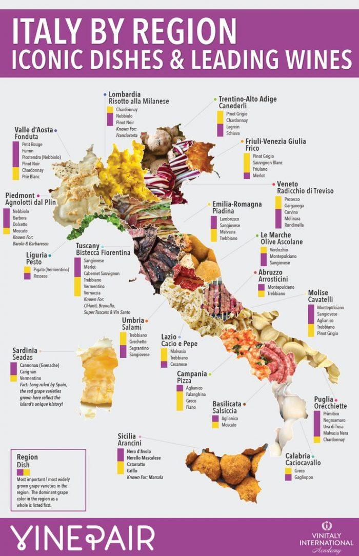 mappe cultura italia