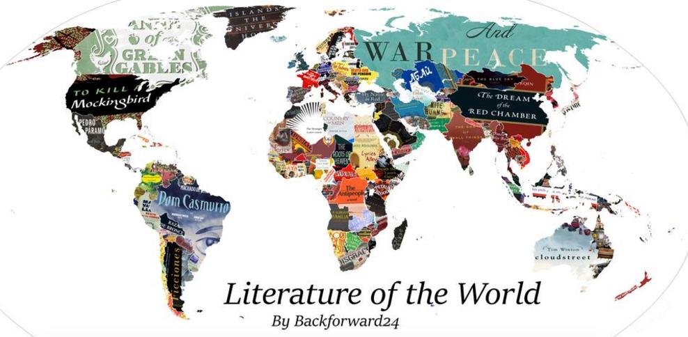 mappe, classifica libri
