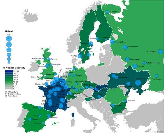 mappe, mappa d'europa in verde e blu