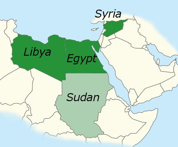 mappe, mappe libia