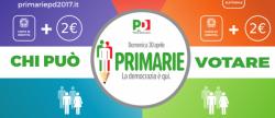 Primarie PD, diretta, risultati: prima dati, Renzi al 73%, affluenza verso i 2 milioni