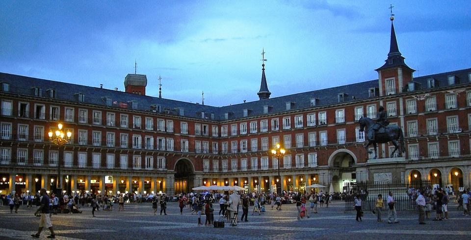 rette universitarie, Madrid Plaza Mayor