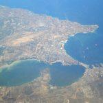 Elezioni comunali Taranto 2017, candidati sondaggi e risultati - vista aerea del Golfo di Taranto