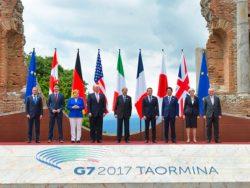 G7 Taormina: sarà resa dei conti su commercio e clima?