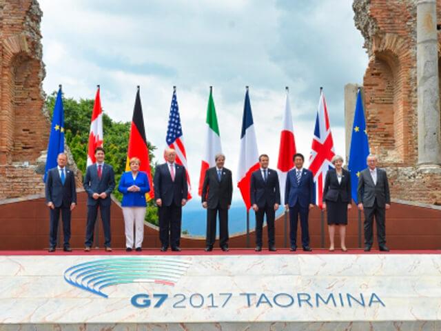 g7 taormina, g7 trump