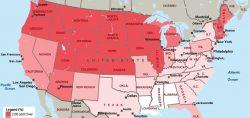 Origine americani: 16 mappe che mostrano da dove vengono i cittadini Usa