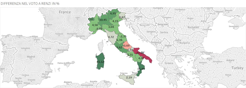 primarie pd mappa italia