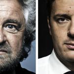 sondaggi elettorali, sondaggi politici, Legge elettorale 2017, volto di Renzi e Grillo
