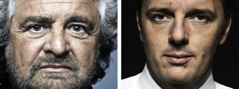 sondaggi politici, Legge elettorale 2017, volto di Renzi e Grillo