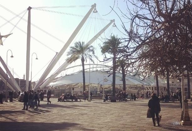Bigo di Genova, piazza caricamento