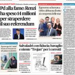 Prima pagina 15 giugno 2017, quotidiani e sportivi