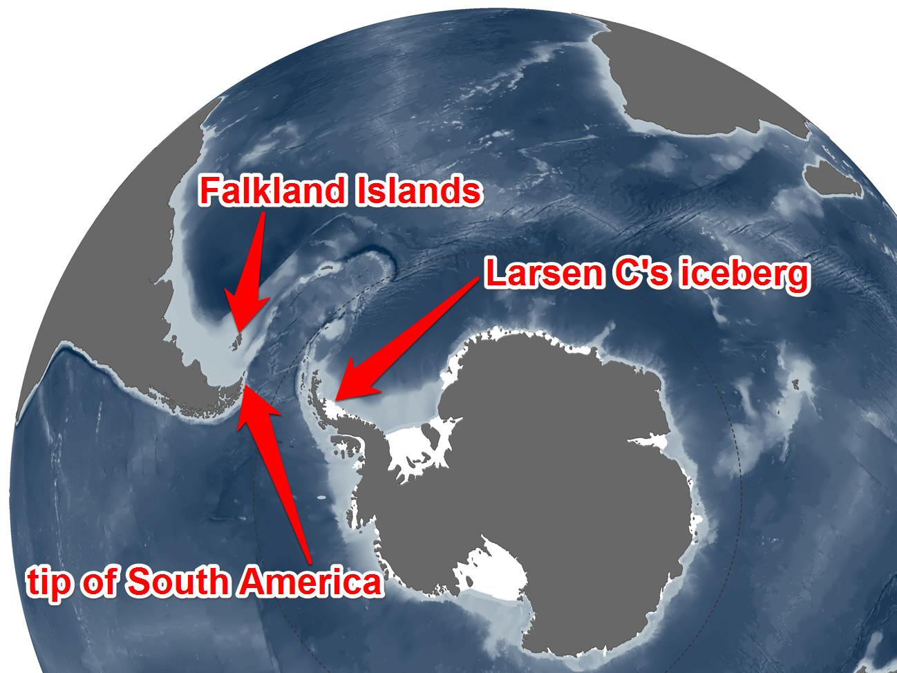iceberg staccato 2017