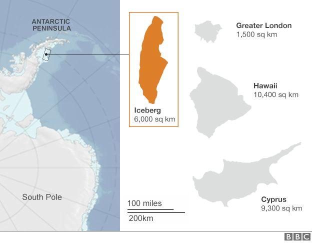 iceberg staccato 2017, bbc