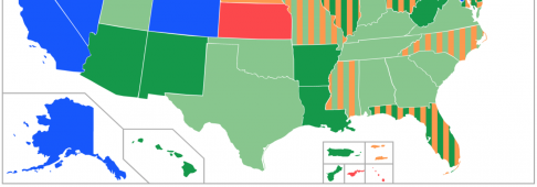 Legalizzazione cannabis, Stati Uniti: i vari gradi di legalità della marijuana