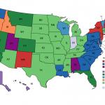 mappe curiosità stati uniti