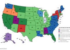 Stati Uniti, curiosità: l'origine dei nomi dei 50 Stati