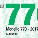 Modello 770 2017 scadenza proroga in arrivo