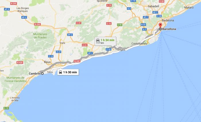 Attentato Barcellona live: mappa degli eventi