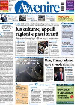 Rassegna stampa 19 settembre 2017, quotidiani e sportivi