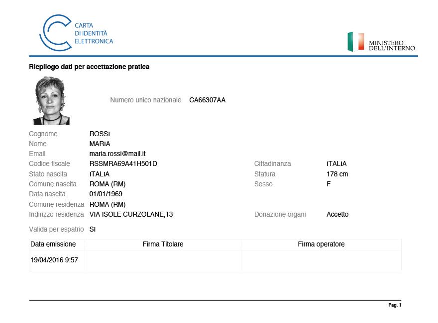 Carta d 39 identit elettronica disponibile in alcuni comuni for Carta di soggiorno documenti