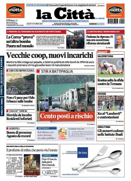 Rassegna stampa 4 settembre 2017 quotidiani e sportivi for Camera deputati rassegna stampa