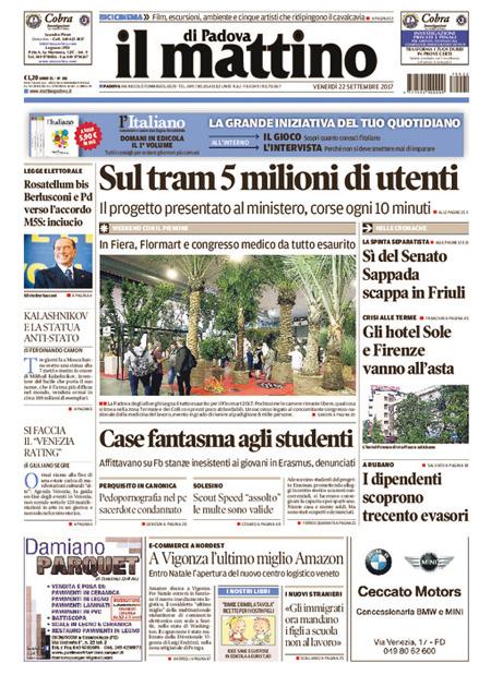 Rassegna stampa 22 settembre 2017