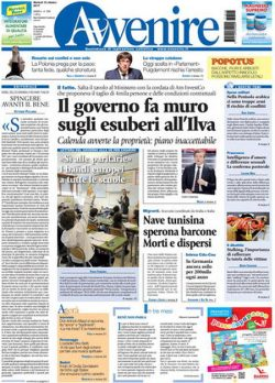 Rassegna stampa 10 ottobre 2017, quotidiani e sportivi