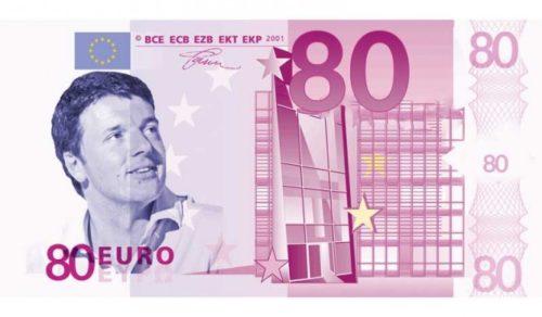 busta paga, bonus 80 euro