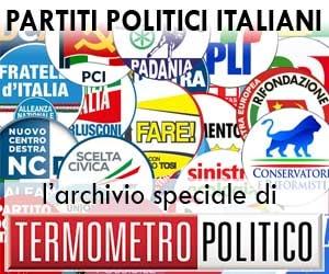 partiti politici italiani: l'archivio - statuti, programmi, bilanci