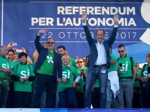 sondaggi elettorali, referendum lombardia