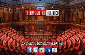 Politica social - I contatti dei parlamentari sui social network