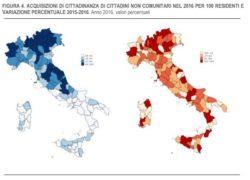Immigrazione, chi sta ottenendo la cittadinanza italiana, e dove, tutti i dati