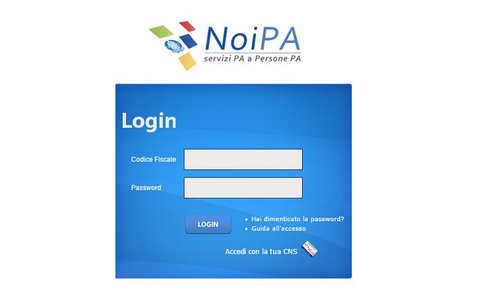 NoiPa cedolino stipendio novembre emissione pagamento