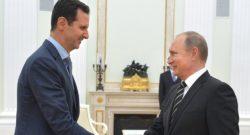 Putin incontra Assad e chiama Trump, la guerra sta per finire?