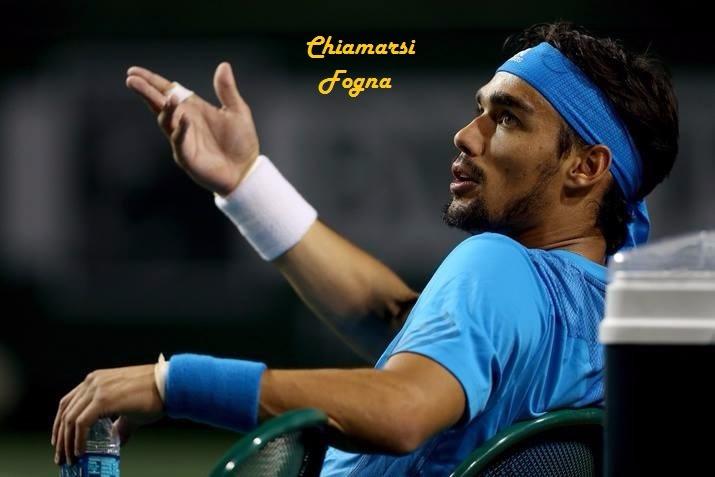 Chiamarsi Fogna senza apparenti meriti tennistici, interviste social, tennis